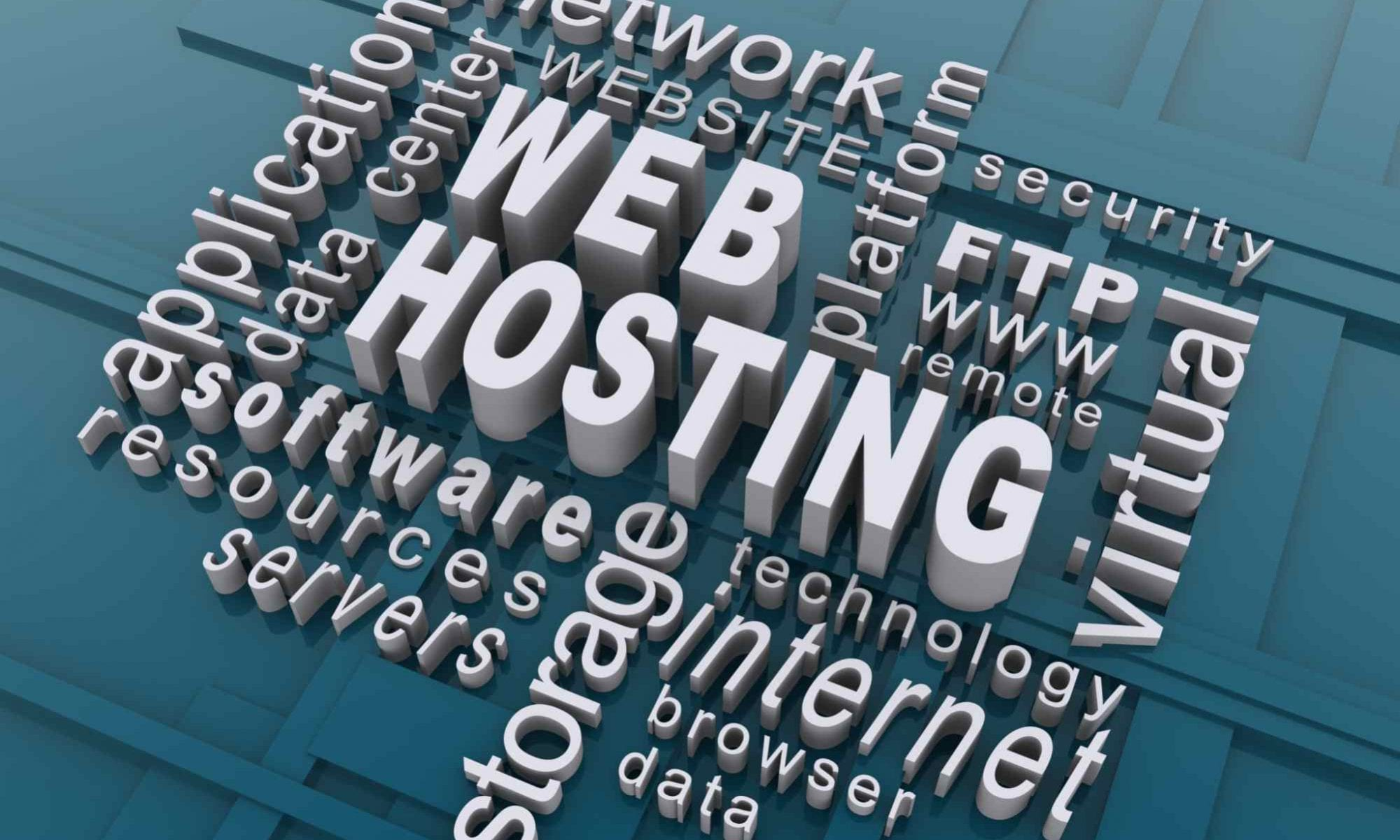 Graphic of Buzz Words for Wordpress Hosting